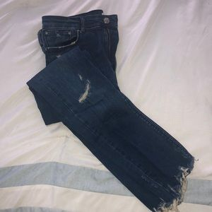 ZARA medium wash jean